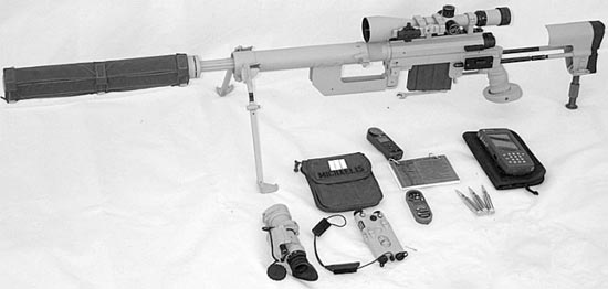 Система CheyTac Intervention M-200