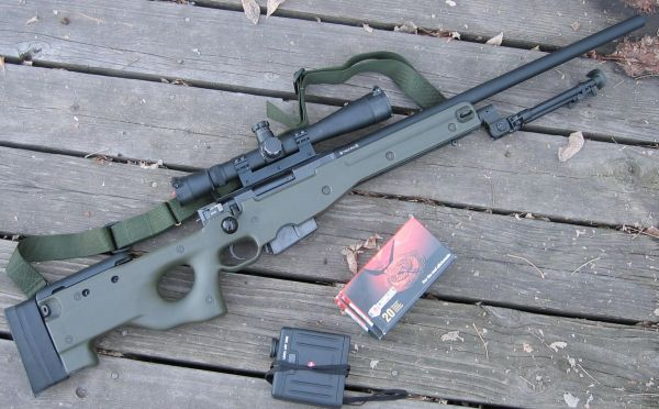 Accuracy International Arctic Warfare Police(AI AWP 7,62)7.62x5