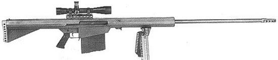 Barrett M82 ранний вариант
