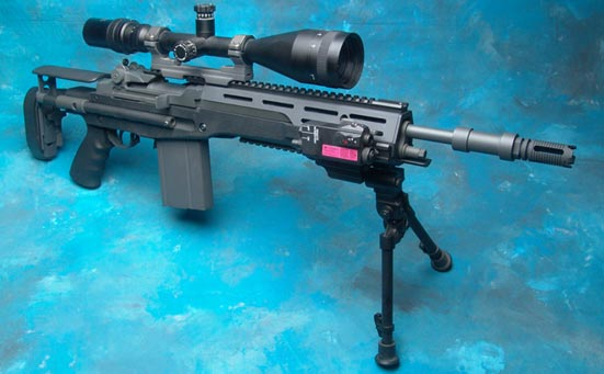 Снайперская винтовка M14 SOPMOD