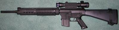 Снайперская винтовка Knights SR-25 RAS