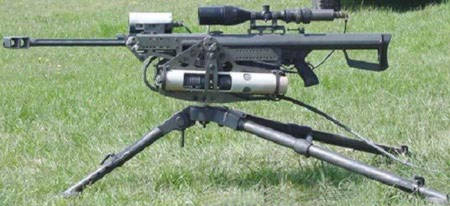 Barrett M82A1 на треноге