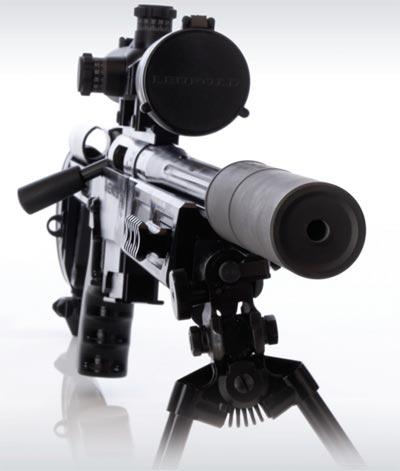 Rangemaster 7.62 STBY с установленным глушителем
