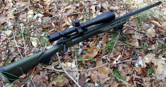 Снайперская винтовка Remington model 700 VTR