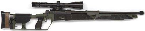 Снайперская винтовка Mauser SR-93 в варианте использовавшемся Голландской полицией