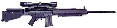 """Снайперская винтовка """"HK MSG-90 / MSG-90А1"""""""