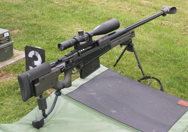 Крупнокалиберная снайперская винтовка Accuracy International AW-50
