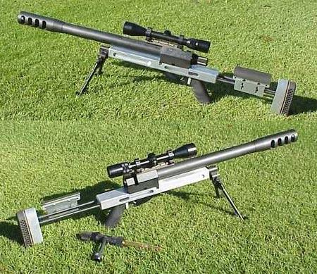 """Крупнокалиберная снайперская винтовка """"Rebel .50 BMG"""""""