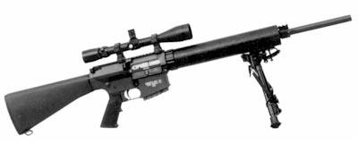 Снайперская винтовка Knights SR-25 LMR