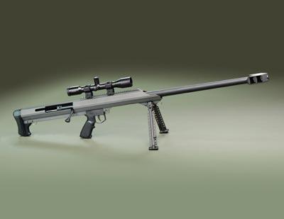 Крупнокалиберная снайперская винтовка Barrett M99