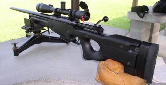 Снайперская винтовка Accuracy International АЕ