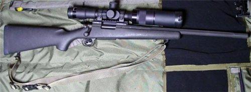 Снайперская винтовка Remington model 700 LTR