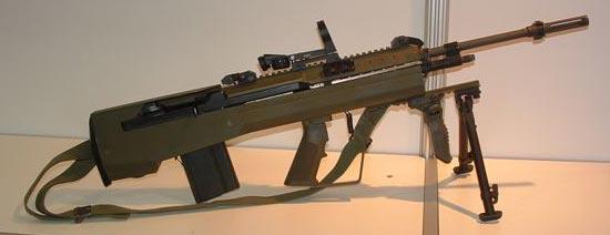 Снайперская винтовка AWC G2 +