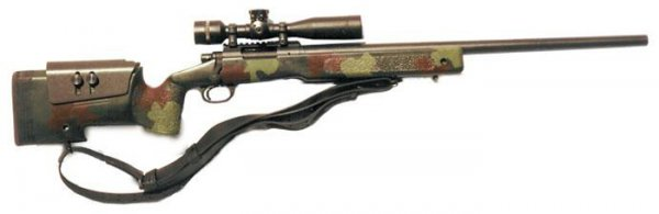 Снайперская винтовка Remington M40A4