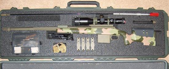 PGW Timberwolf C14 MRSWS в кофре для транспортировки