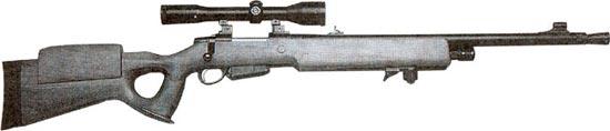 Beretta 501 sniper