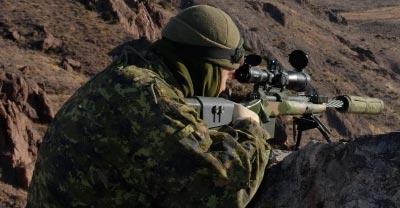 Снайперская винтовка C14 MRSWS при использовании