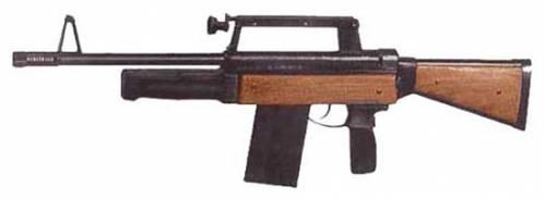 Каталог оружия.  РБ-12 зксперементальное помповое ружье конструкции Бандаевского.