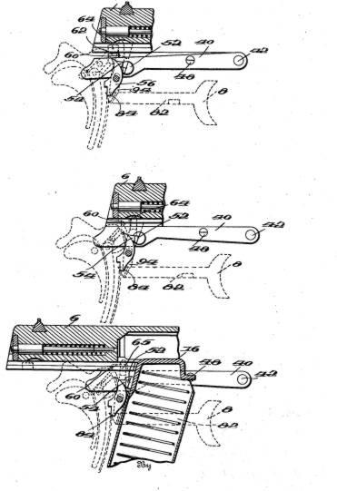 Схема устройства пистолета.  Пистолет Obregon.