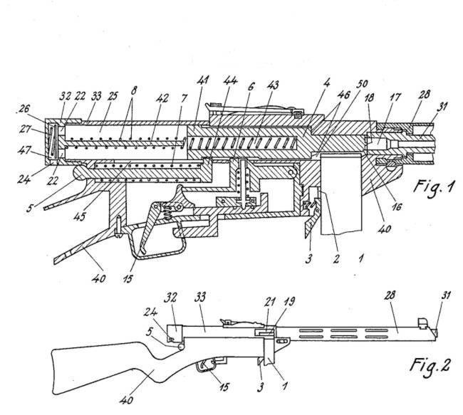 пистолета-пулемета Suomi