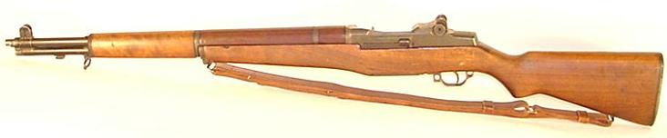 the description of the m1 garand rife and its use in the american military history