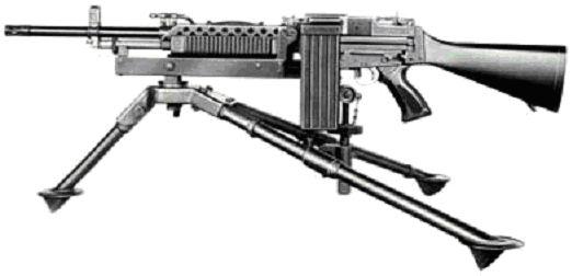 Ранняя версия пулемета Stoner