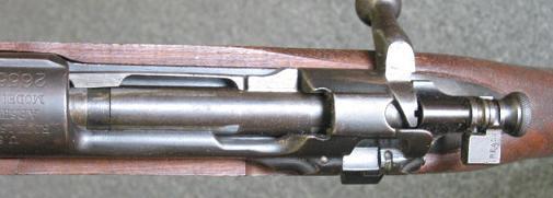 Винтовка М1903 - вид на ствольную коробку сверху