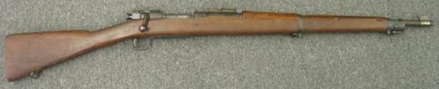 Винтовка M1903 выпуска Springfield armory (1944 год).